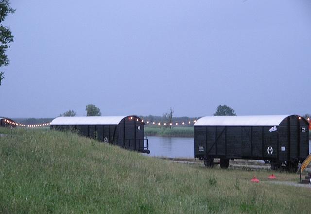 Ferienhaus - Oderbruch - Übernachten am Fluss