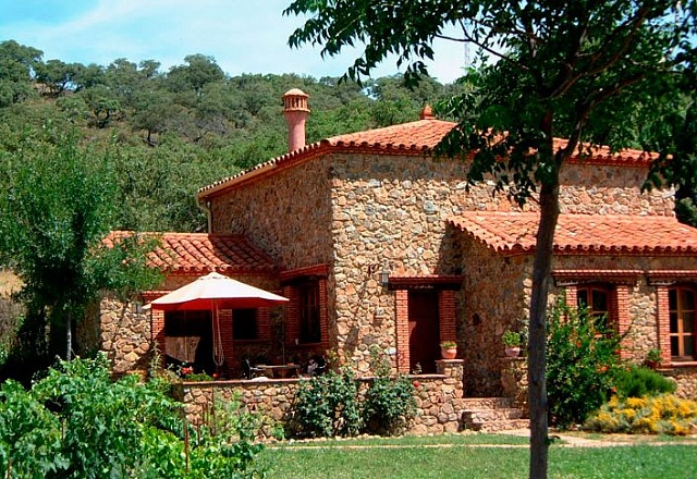 Ferienhaus - Costa de la Luz - Finca Molino Rio Alajar