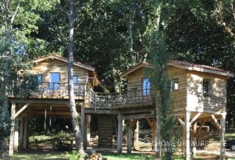 Ferienhaus - Dordogne - Les cabanes du Tertre