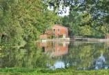 Historische Wassermühle