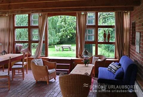 Ferienhaus - Altes Land - Schönes Ferienhaus - Ferien im Backhaus