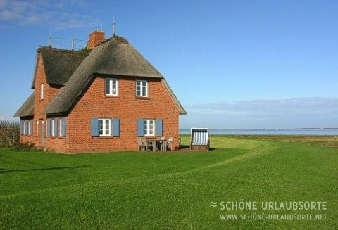 Ferienhaus - Nordsee - Inseln - Reethuus am Fething - Haus Butwehl