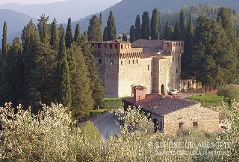 Ferienwohnung - Chianti - Castello del Trebbio