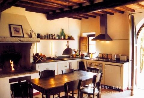 Ferienhaus - Siena - Toskanisches Landhaus mit Pool