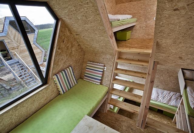Ferienhaus - Ostsee - Festland - Grüne Wiek – design Baumhausdorf Beckerwitz