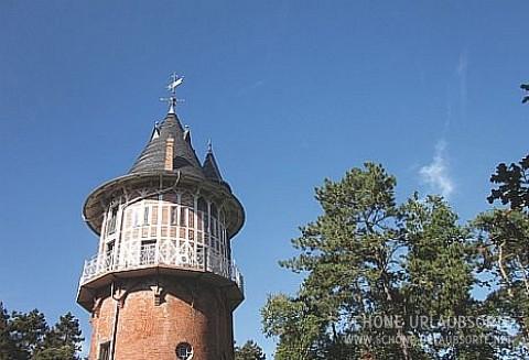 Ferienwohnung - Mecklenburgische Seenplatte - Ferien im historischen Wasserturm Waren