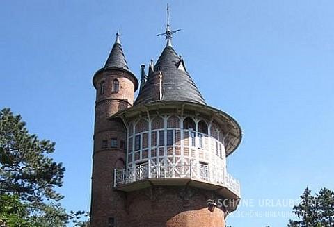Ferienhaus - Mecklenburgische Seenplatte - Wasserturm in Waren an der Müritz