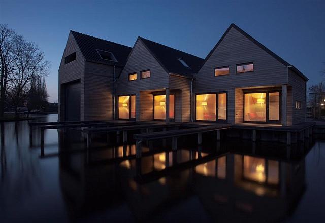 Ferienhaus - Südwest Friesland - Werft IJlst : Häuser mit eigenem Boot