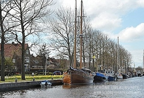 Am Kanal in Harlingen