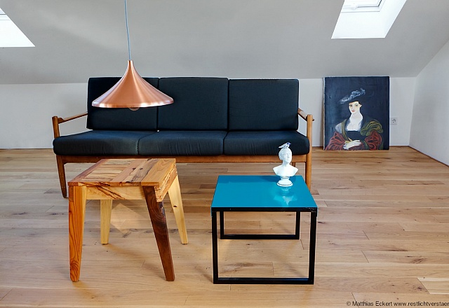 Design-Apartment 'Hier war Goethe nie'