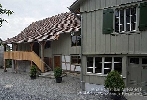 Ferienwohnung - Thurgau Bodensee - Fischerhäuser Romanshorn