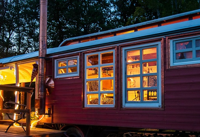 Ferienhaus - Bergisches Land - Zirkuswagen Zauberei