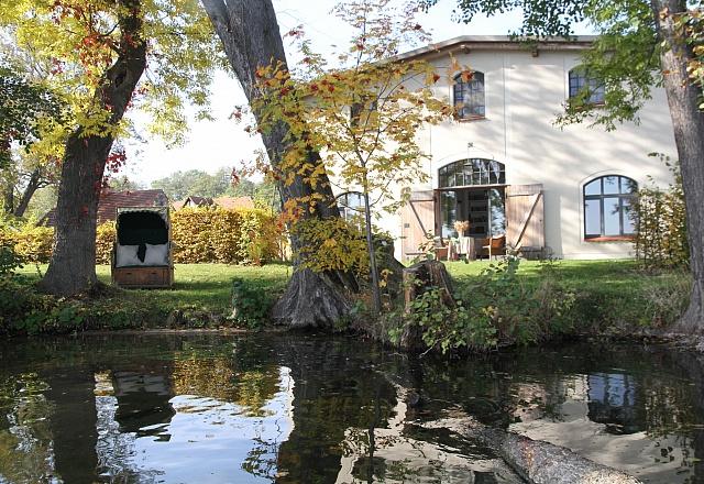 Ferienhaus - Oder-Spree-Seengebiet - Haus am See auf dem Eibenhof