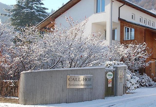 Ferienwohnung - Südtirol - Callhof - der Bioobsthof