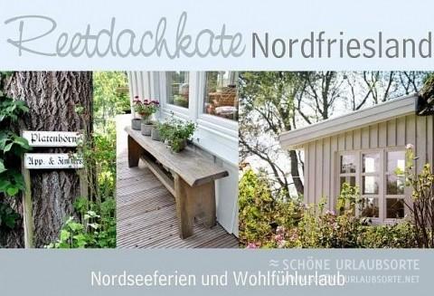 Bed & Breakfast - Nordsee - Festland - Reetdachkate Nordfriesland