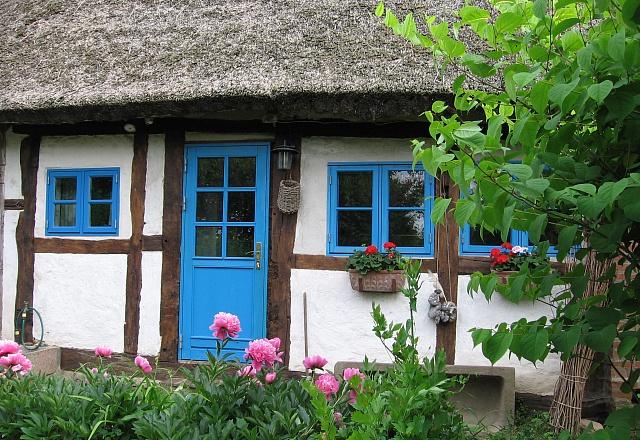 Hof-LandART Reetdachhaus Pepelow