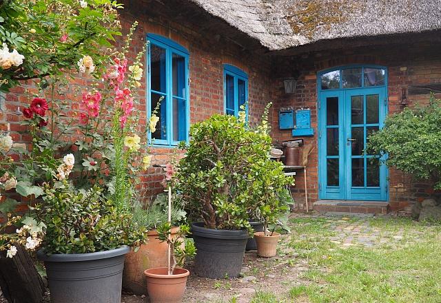 Ferienwohnung - Ostsee - Festland - Hof-LandART Reetdachhaus Pepelow