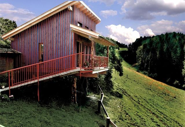 Ferienhaus - Ostbayern - Stelzenhaus auf Biohof
